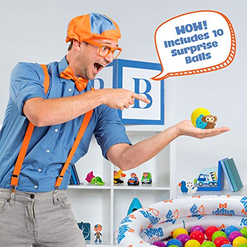 Blippi Ball Pit Surprise Series 1 Mystery Assortiment Brand New *