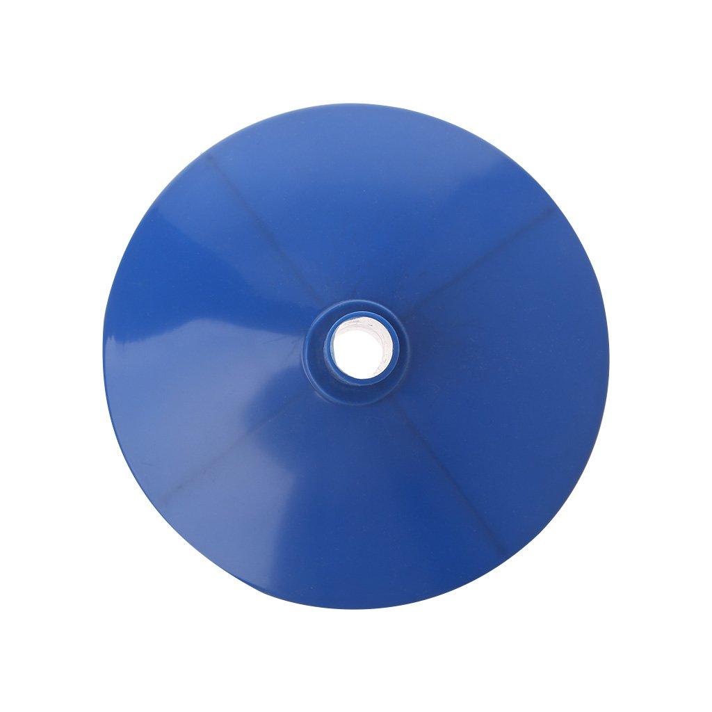 LLAni Bo/îte de rangement ronde en plastique rigide pour forets 100 pi/èces