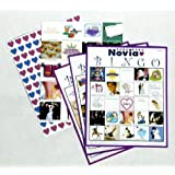badabada novia bride bingo spanish version of bride bingo for 20 players