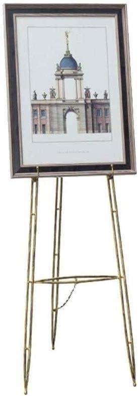 欧州のイーゼル鉄の油絵フレームフォトフレームフロアスタンドディスプレイがポスター写真ブラケット結婚式をスタンド M/20/03/28