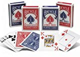 24 Decks of Bicycle Rider Back Poker Playing Cards - Choose from Regular or Jumbo index - Wholesale Priced - Wholesale Priced