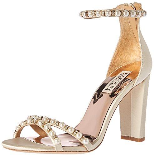 Badgley Mischka Bridal - Badgley Mischka Women's Hooper Heeled Sandal, Ivory, 7.5 M US