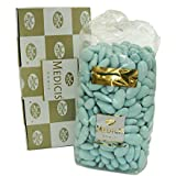 Medicis Blue French Almond Dragees (French Jordan Almonds) 330pc 1kg (2.2lbs)