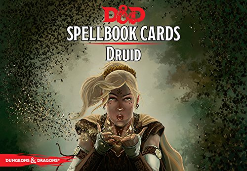 D&D Next: Druid Spell Deck 73903 by Dungeons & Dragons - Gaming Aids Gale Force Nine