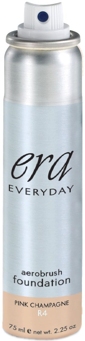 ERA Everyday Aerobrush Foundation Makeup, R4 Pink Champagne, 2.25 Ounce