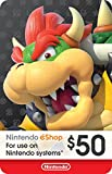 Kyпить eCash - Nintendo eShop Gift Card $50 - Switch / Wii U / 3DS [Digital Code] на Amazon.com