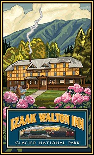 Northwest Art Mall PAL-4962 SMK Jasper Canada Kayakers Print by Artist Paul A. Lanquist, 11