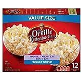 Orville Redenbachers Gourmet Popcorn Movie Theater Butter 12 Count. Mini Single