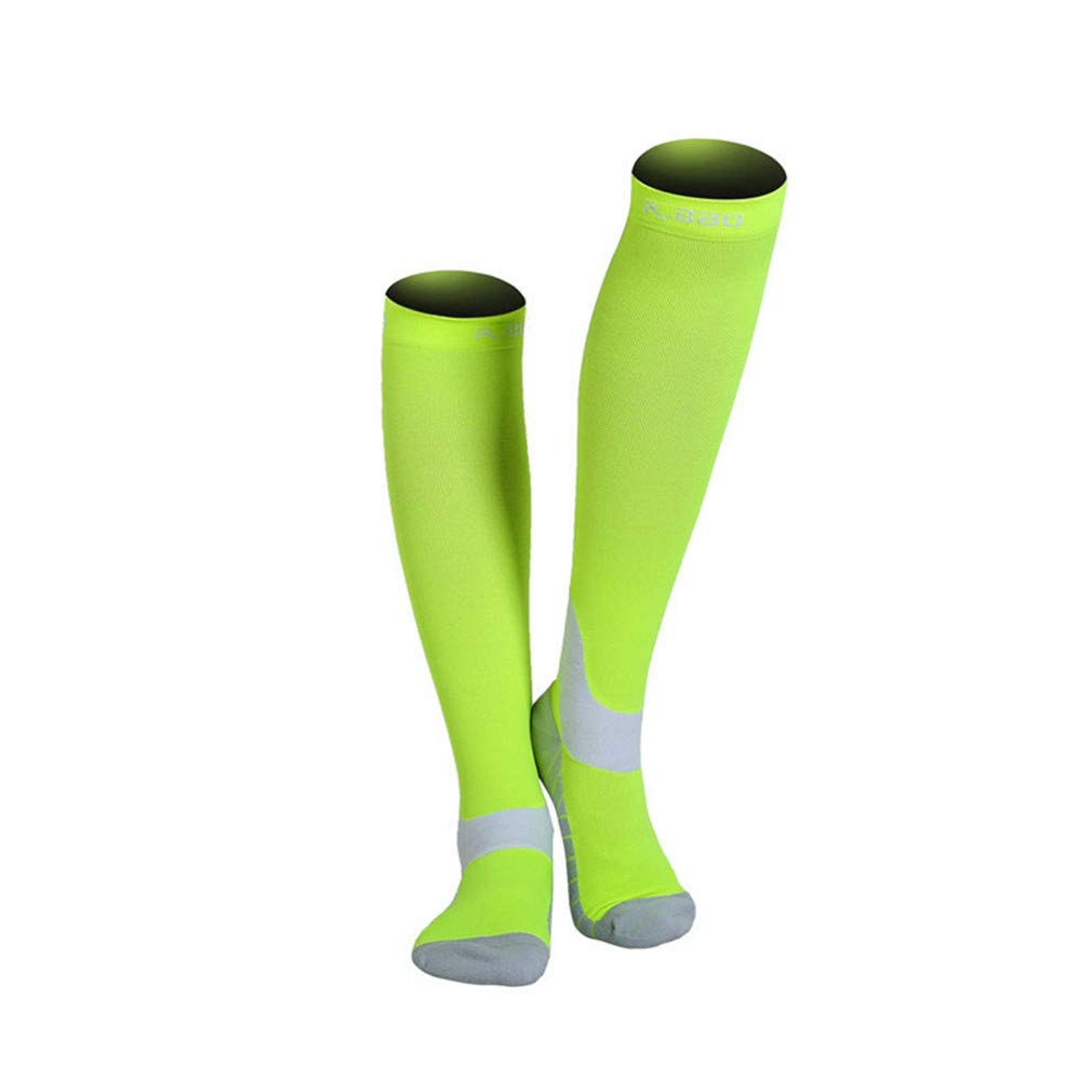 Amazon.com : En-teiping Fluorescence Night Running Socks Men New Marathon Athletics Cycling Sports Long Compression Sock : Sports & Outdoors
