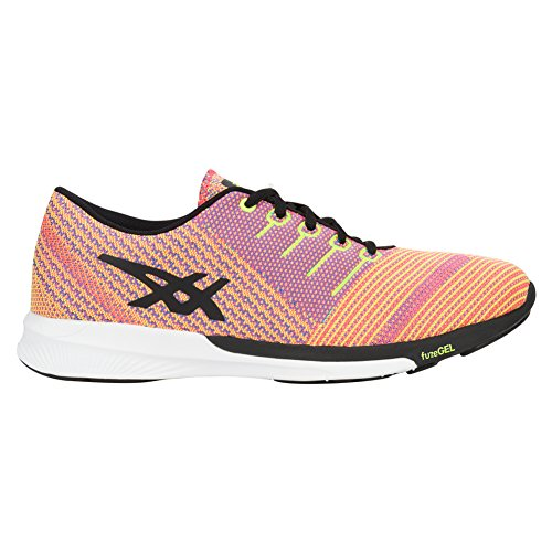 Tricot Femme Yellow safety black Fuzex Coral Flash Asics UxCzqw5