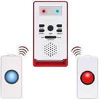 Cuidador personal inteligente inalámbrico, sistema de emergencia