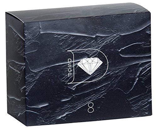 ダイヤモンドスキンジェルパック×1箱 (8回分) 1回のパックで実感、もっちり肌。 琉球粘土×高濃度炭酸ガス フェイスパック B00S2A11J4  1箱
