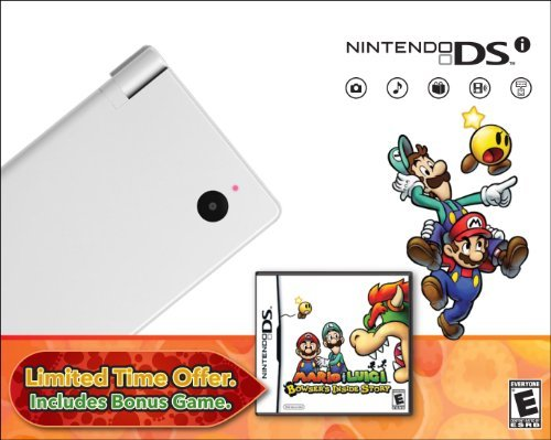 Nintendo DSi with Mario & Luigi Bundle - White by Nintendo