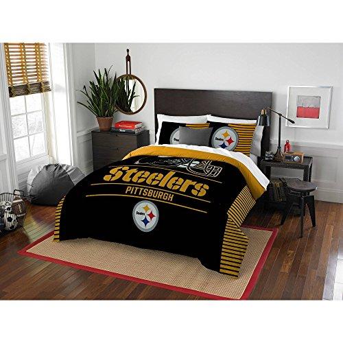 Northwest NFL Pittsburgh Steelers Draft Full/Queen Bedding Comforter Set #55112679