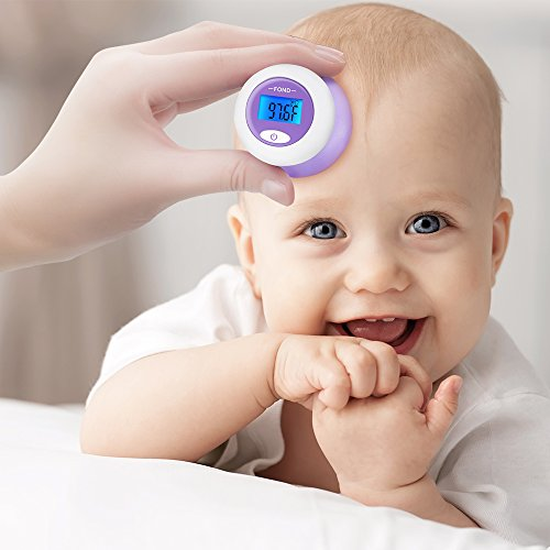 FOND Forehead Baby Thermometer Rechargeable Medical Thermometer for Baby and Adults with FDA and CE approved ()