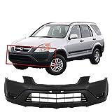 MBI AUTO - Textured, Black Front Bumper Cover Fascia for 2002 2003 2004 Honda CRV CR-V 02 03 04, HO1000202