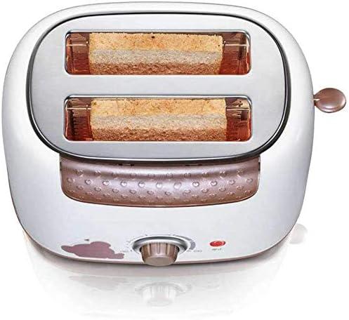 JINRU 2 tranches Grille-Pain, Petit Grille-Pain avec Defrost Feature/Annuler pour Bagels Pain Autres spécialités de Boulangerie