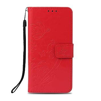 Amazon com: Xiaomi MI A2 Lite Case, UNEXTATI Wallet Case