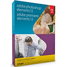 Adobe Photoshop and Premiere Elements V13 , Student Teacher Edition
