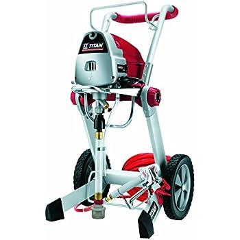 Titan 0516012 Xt290 Airless Paint Sprayer 5 8 Hp Motor