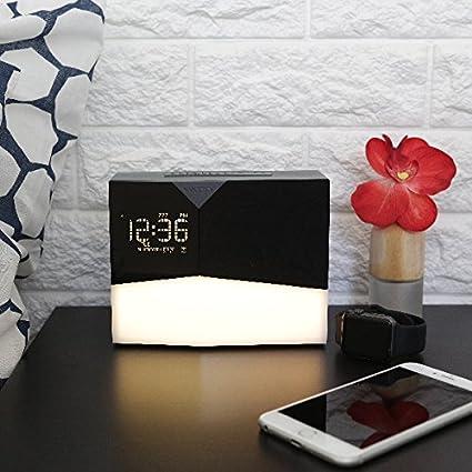 radio r veil witti beddi glow le r veil avec lumi re graduelle darty. Black Bedroom Furniture Sets. Home Design Ideas