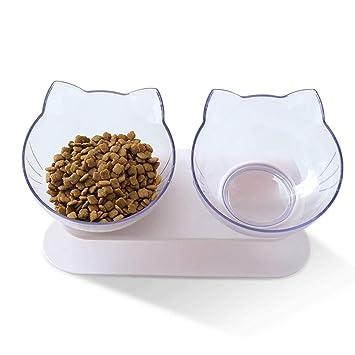 STAJOY - Cuencos de Comida para Gatos: Amazon.es: Productos para ...