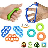 IHOMKIT Finger Stretcher, Hand Strengthening, Grip Strengthener, Forearm Finger Exerciser Strength Extensor Trainer for Guitar Rock Climbing Physical Therapy Arthritis Carpal Tunnel Exercise