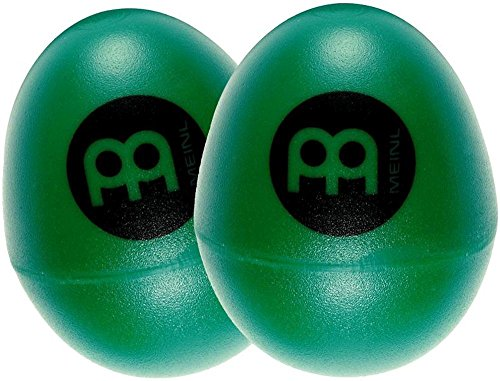 Meinl Percussion ES2-GREEN Set of Two Plastic Egg Shakers, G