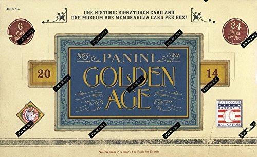 2014 Panini Golden Age Baseball Hobby Box - Baseball Cards 2014 Box