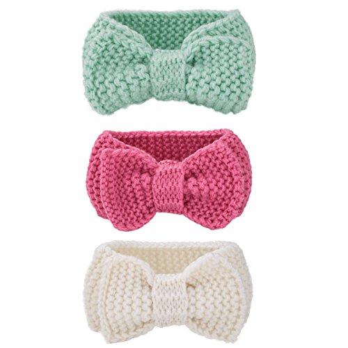 Itaar Knitted Headbands Crochet Knotted