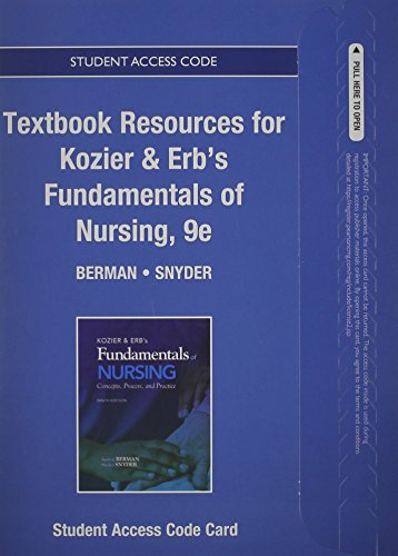 Pdf nursing fundamentals & erbs kozier of