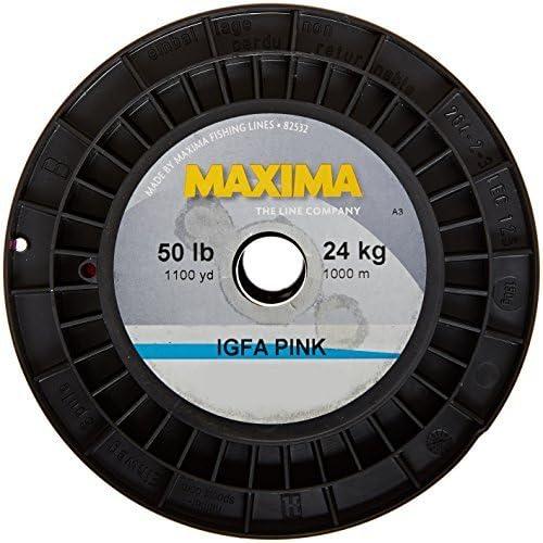 Maxima釣りラインXBサービススプール、ピンク、50-pound / 1100-yard