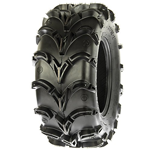 SunF A050 AT Mud & Trail 25x11-10 ATV UTV Tires, 6PR, Tubeless by SunF