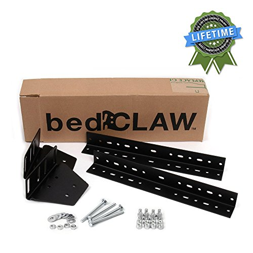 Footboard Kit (Bed Claw Universal Footboard Attachment Kit, with Combo Bag Hardware, Bed Frame)