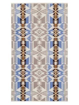 Pendleton Silver Bark Spa Towel - One Size, White