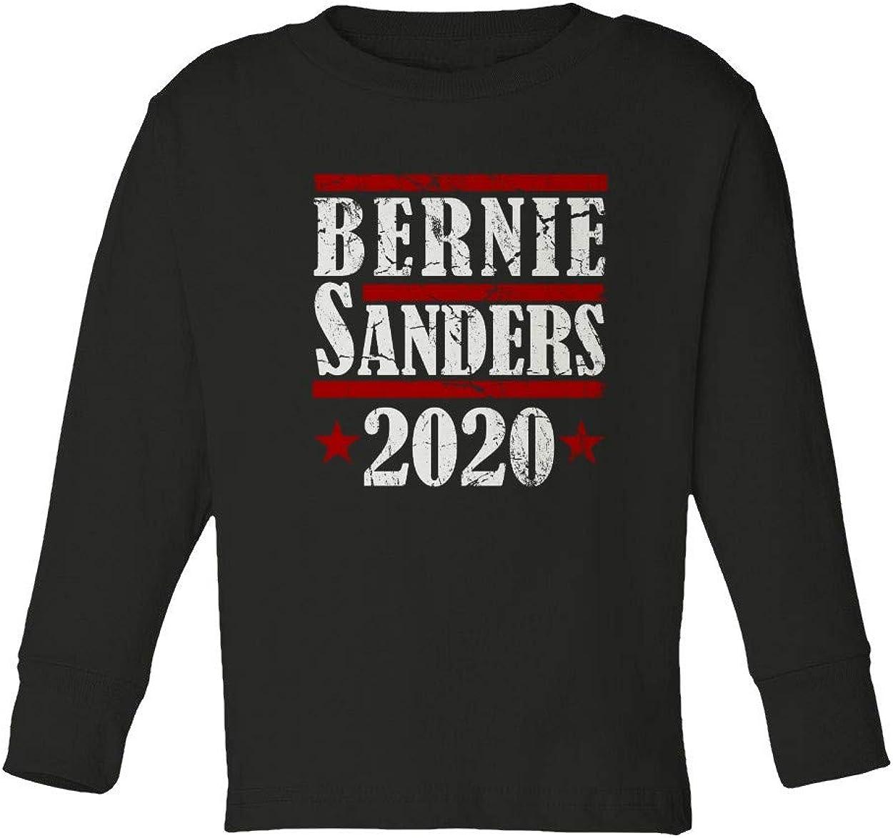 KING THREADS Bernie Sanders 2020 Presidential Election Toddler Long Sleeve T-Shirt