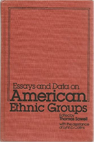 com essays and data on american ethnic group com essays and data on american ethnic group 9780877662112 thomas sowell lynn d collins books