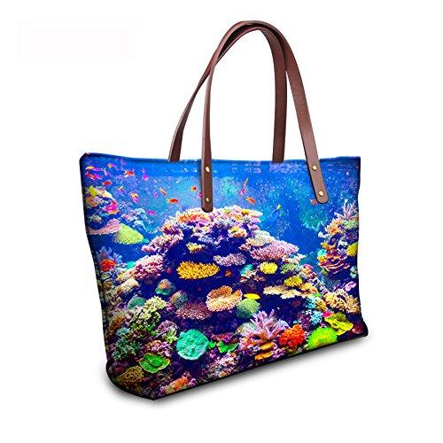 Bags Purse Wallets C8wc1106al Foldable Bags Women Print Animals School FancyPrint BAOXA