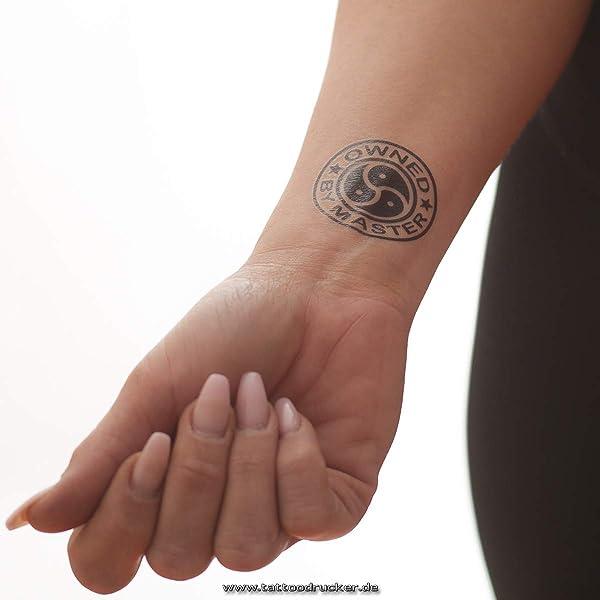 Reina de Picas Mini Tattoo – QoS negro adhesivo para hotwife – Los ...