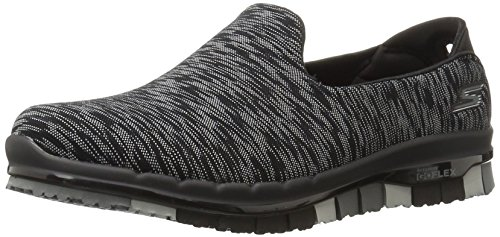 Black Donna Go Multi Sneaker Flex Skechers qwItRTR