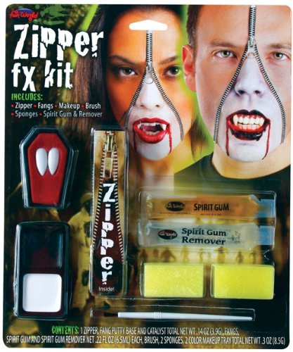 [Vampire Zipper FX Kit by Horror-Shop] (Zipper Fx Kit)