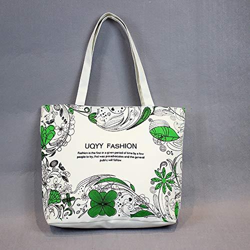Shopping Cartoon 4 Women Bag Pattern Handbag Bucket Fashion attrasfjwanrw Gift Cute Casual Canvas wxfUa