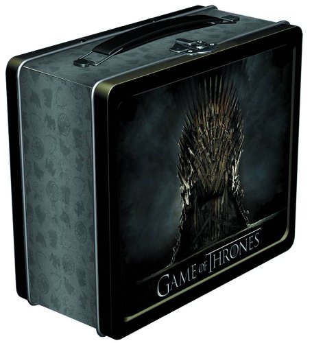 me of Thrones: Iron Throne Lunchbox (Tin Box Statue)