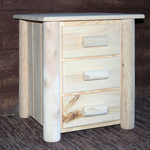 - Lakeland Mills Frontier Nightstand, Unfinished 307723-OG-92970-O-415572