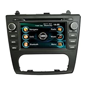 oem replacement in dash radio dvd gps navigation headunit for nissan altima auto ac. Black Bedroom Furniture Sets. Home Design Ideas