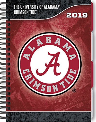 Turner Sport Alabama Crimson Tide 2019 Tabbed Planner Personal Organizer (19998420218)