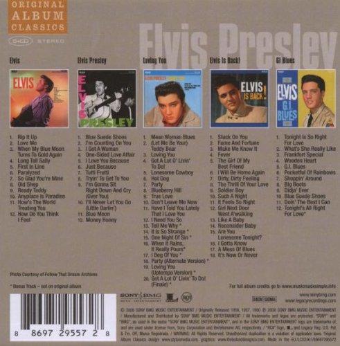 (Vol 1) 5cd Original Album Classics- 5cd Slipcase