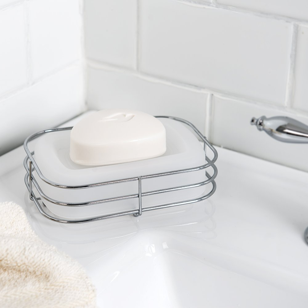 Allure Home Creations Wireware 5-Piece Bathroom Accessory Set - 1 Lotion Pump, 1Toothbrush Holder,1 Soap Dish,1 Tumbler and 1 Wastebasket by Allure Home Creations (Image #6)
