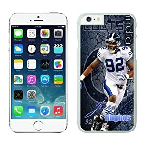 NFL Case Cover For SamSung Galaxy S3 Indianapolis Colts Jerry Hughes White Case Cover For SamSung Galaxy S3 Cell Phone Case ONXTWKHB1955