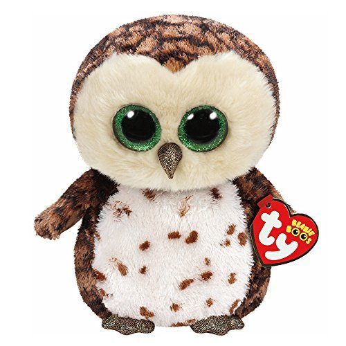 Claire's Accessories TY Beanie Boos Medium Sammy the Owl Plush Toy by Claire's
